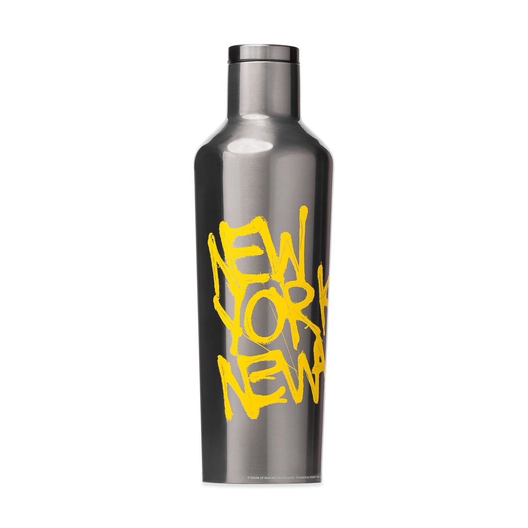 Basquiat Corkcicle Canteens in color Silver