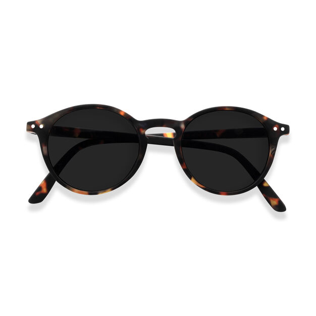 IZIPIZI Round Sunglasses #D in color Tortoise