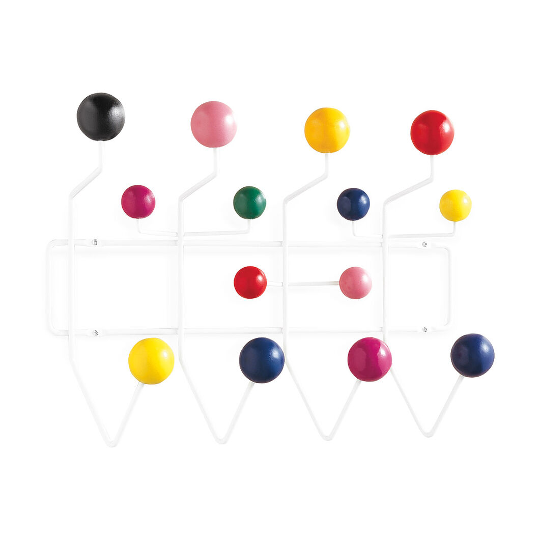 Eames® Hang-It-All Coat Rack in color Multi