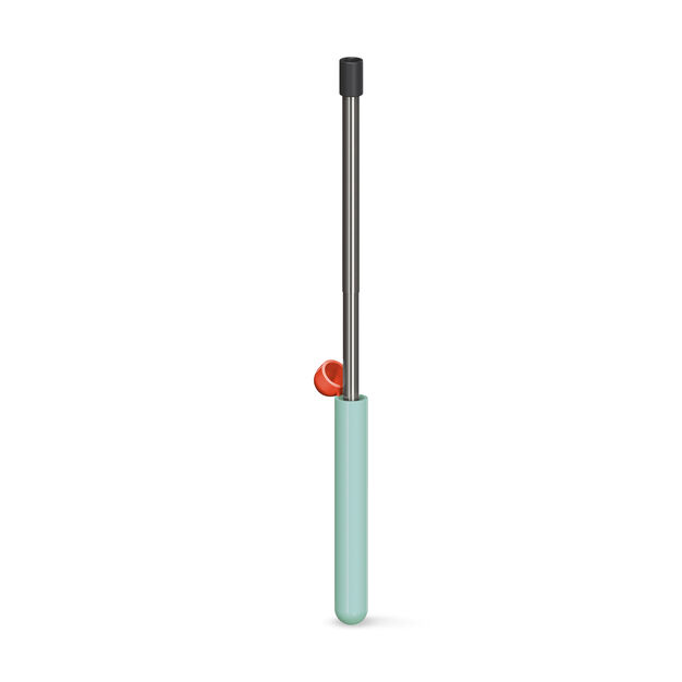 Collapsible Straw with Case in color Mint