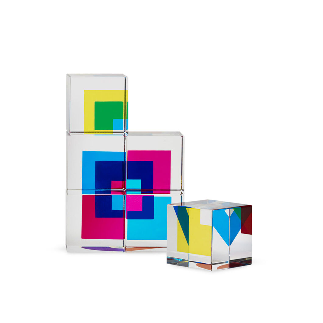 Jou-Jouer Acrylic Blocks in color