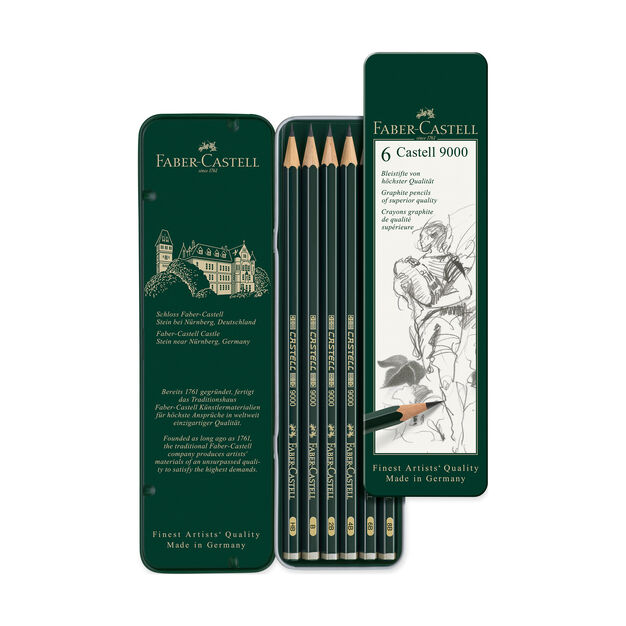 Faber Castell Graphite Pencils in color