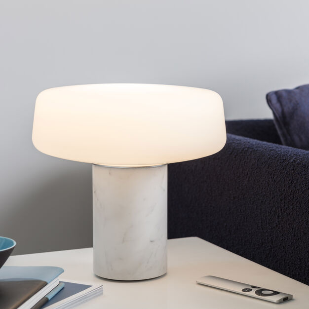 Solid Table Lamp in color Marble