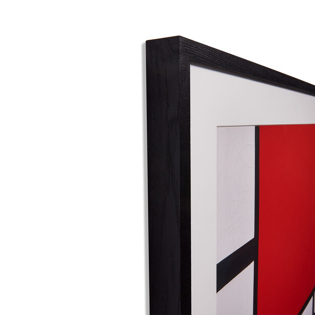 Piet Mondrian: Composition in Red, Blue, and Yellow Framed Print in color