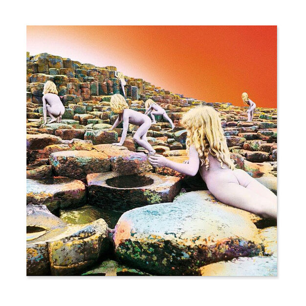 Led Zeppelin: Houses of the Holy Vinyl Record in color