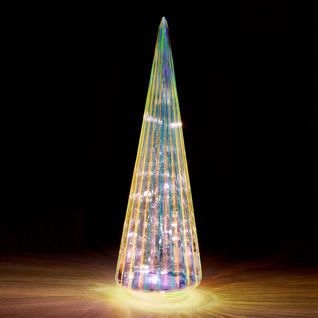 LED Lighted Trees in color Silver