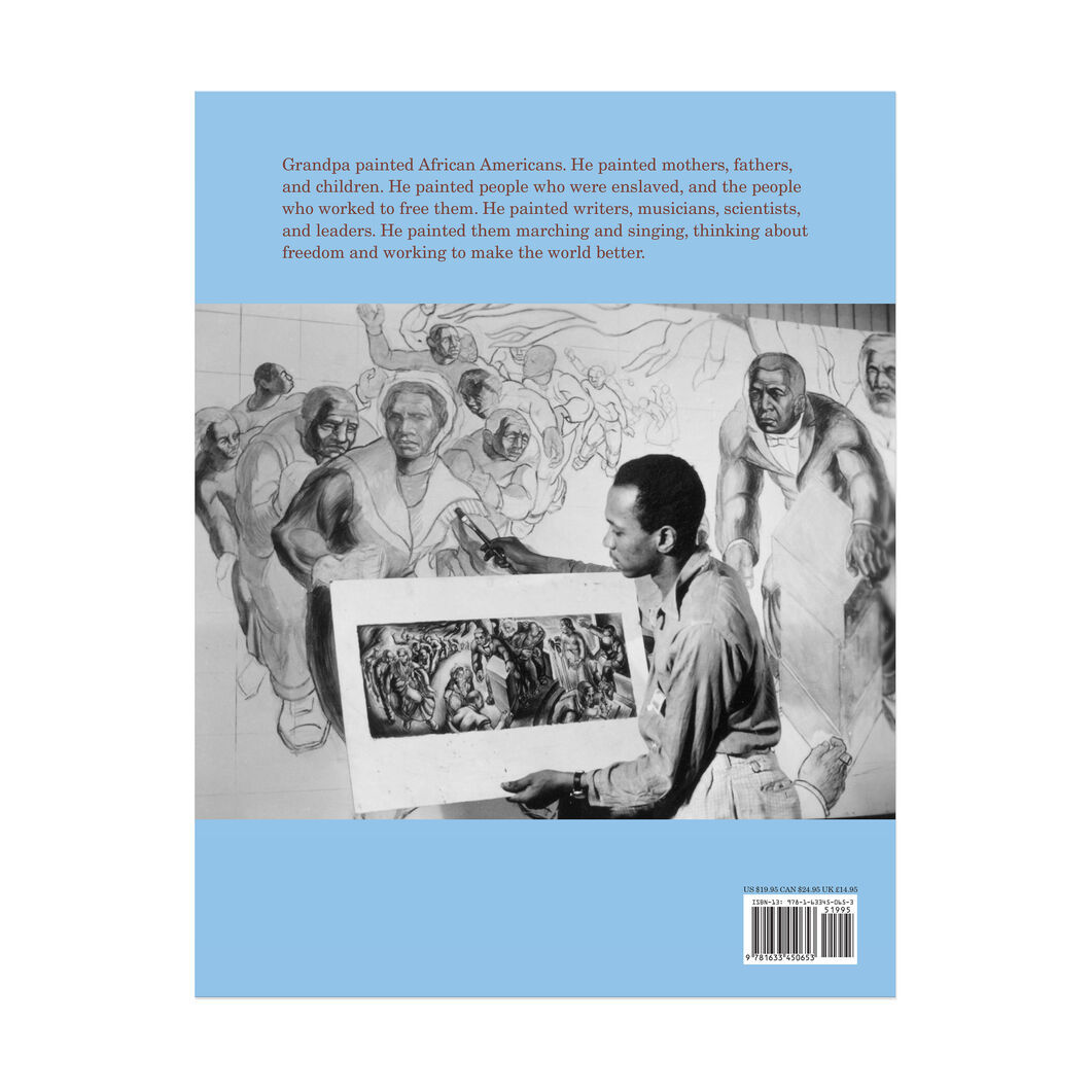 Grandpa and the Library: How Charles White Learned to Paint - Hardcover in color