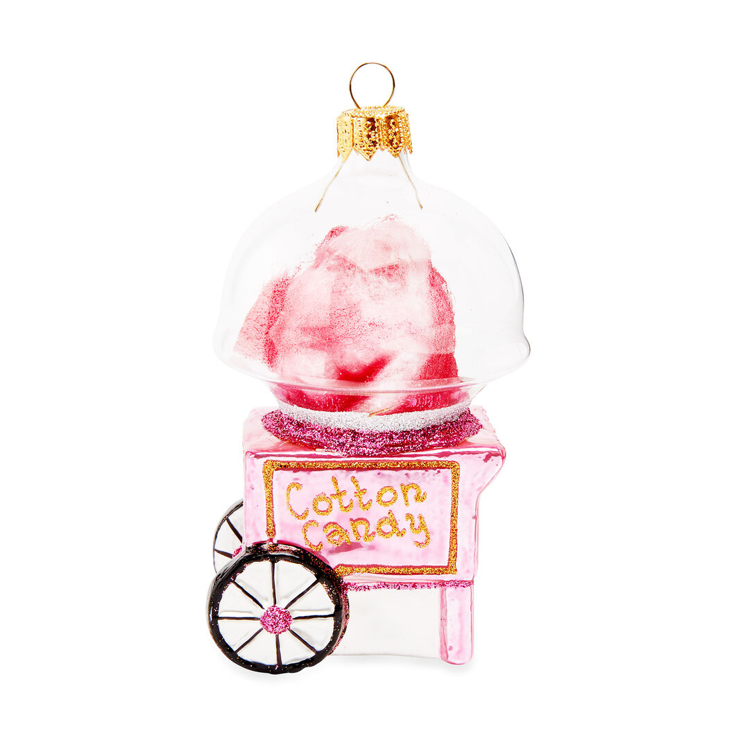 Cotton Candy Ornament in color