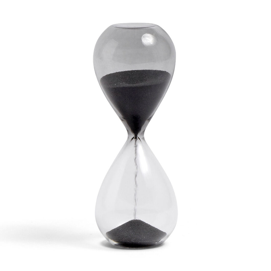 HAY Time Hourglass in color Black
