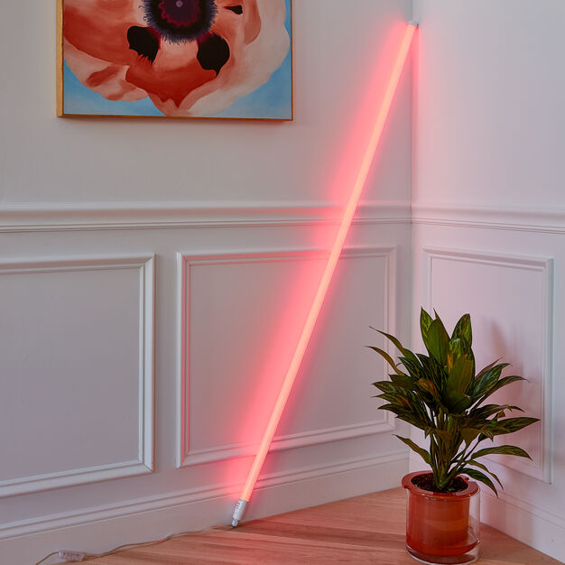 HAY Neon LED Tube Light in color Red
