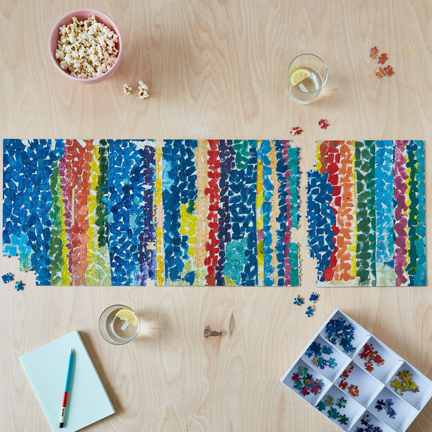 Alma Woodsey Thomas Jigsaw Puzzle - 1,000 Pieces in color