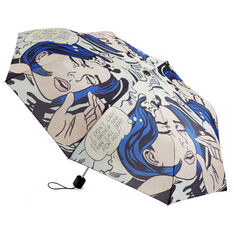 Roy Lichtenstein: Drowning Girl Umbrella in color