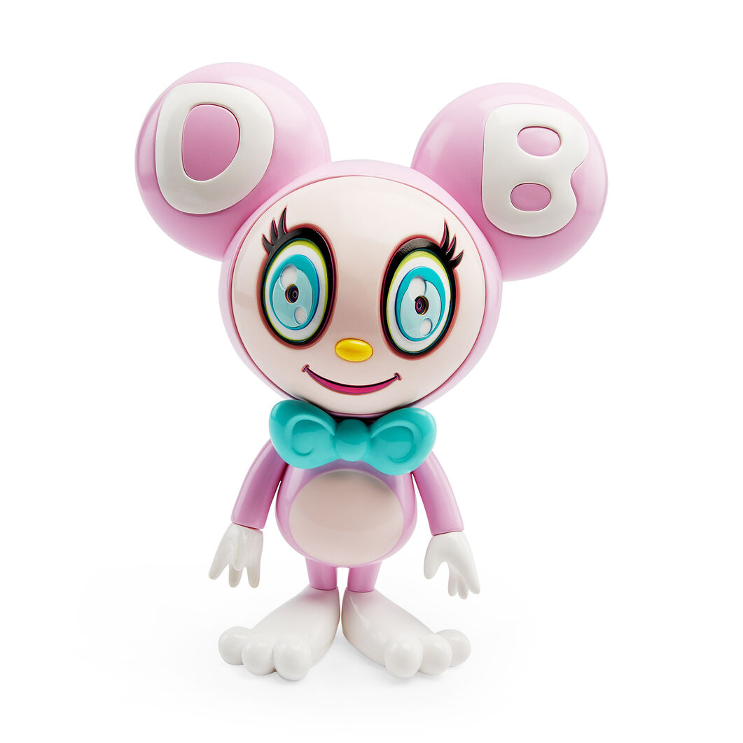 Murakami DOB-kun Figure in color Light Pink