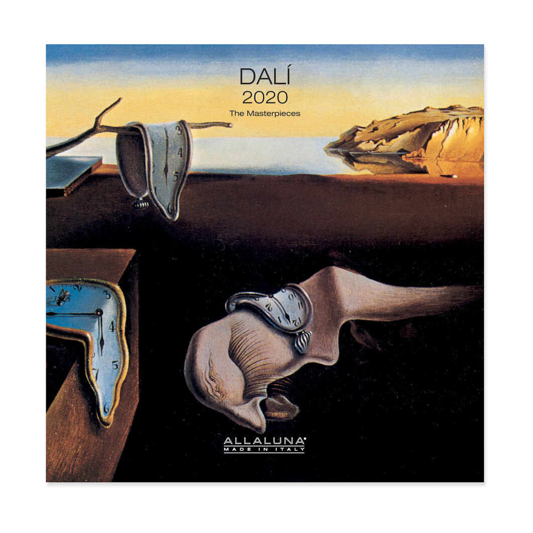 2020 Dalí Wall Calendar in color
