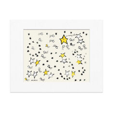 Warhol: So Many Stars Matted Print in color