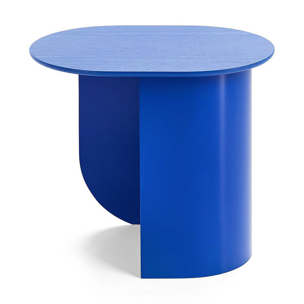 Plateau Side Table in color Blue