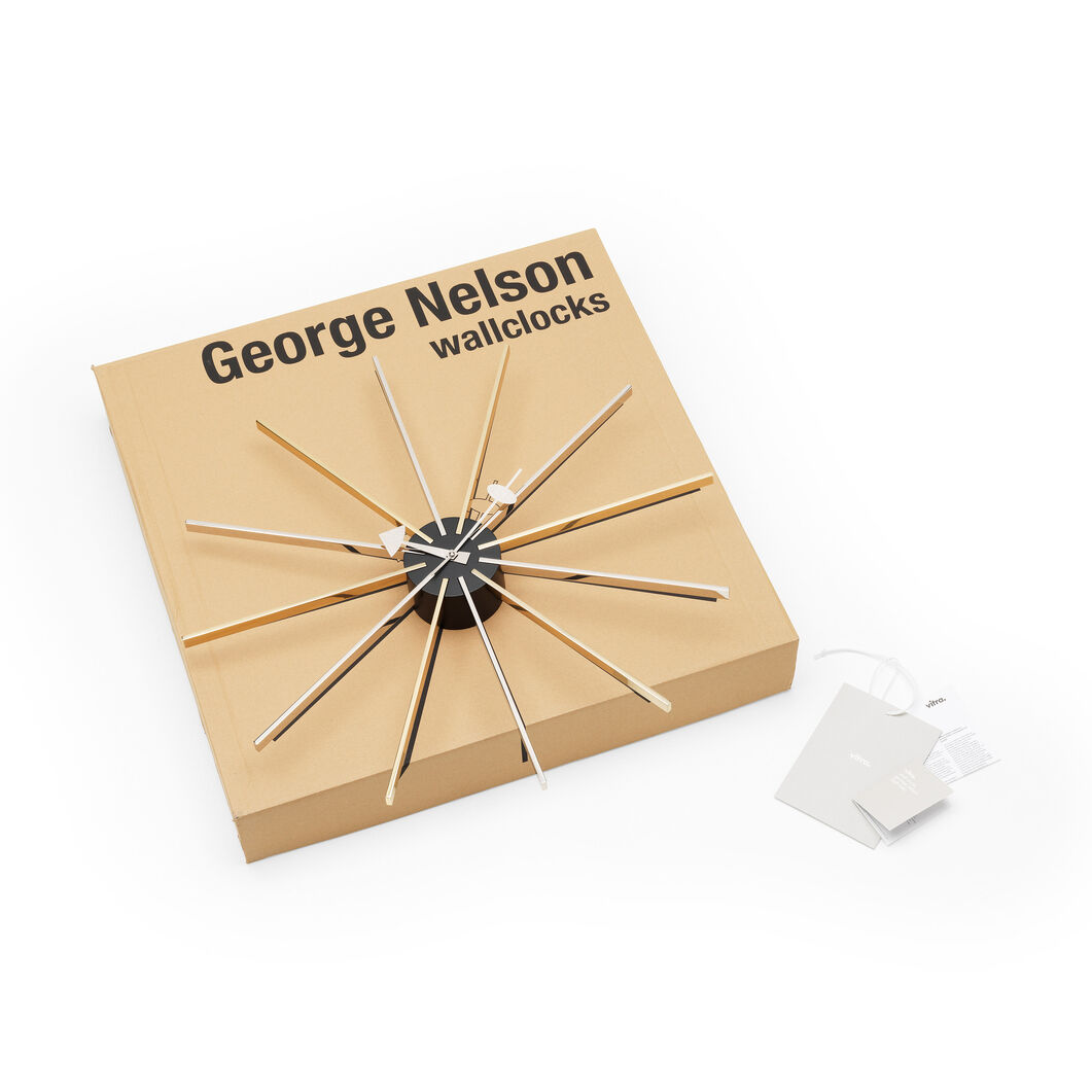 George Nelson Star Clock in color