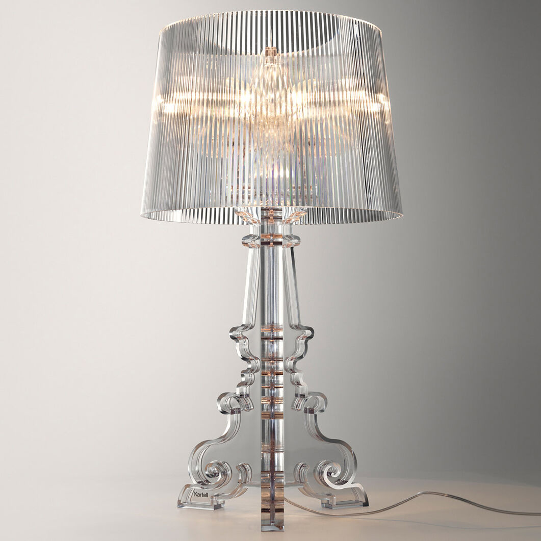 Bourgie Table Lamp by Kartell in color Transparent