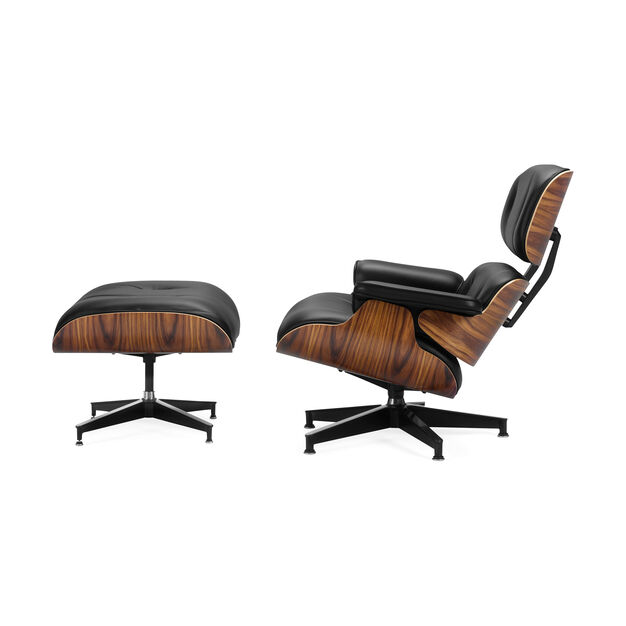 Eames Lounge Chair with Ottoman in color