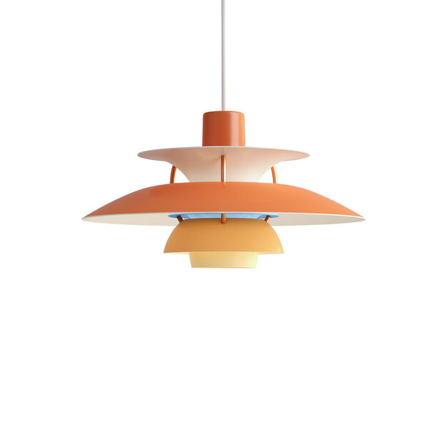 PH 5 Hanging Lamp in color Orange