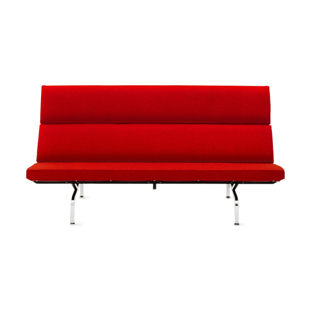 Eames® Compact Sofa in color