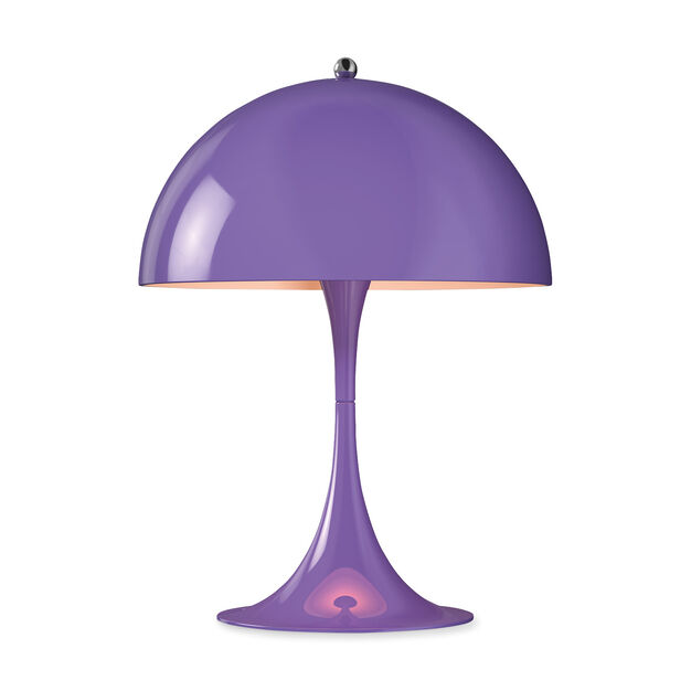 Panthella Mini Table Lamp in color Violet