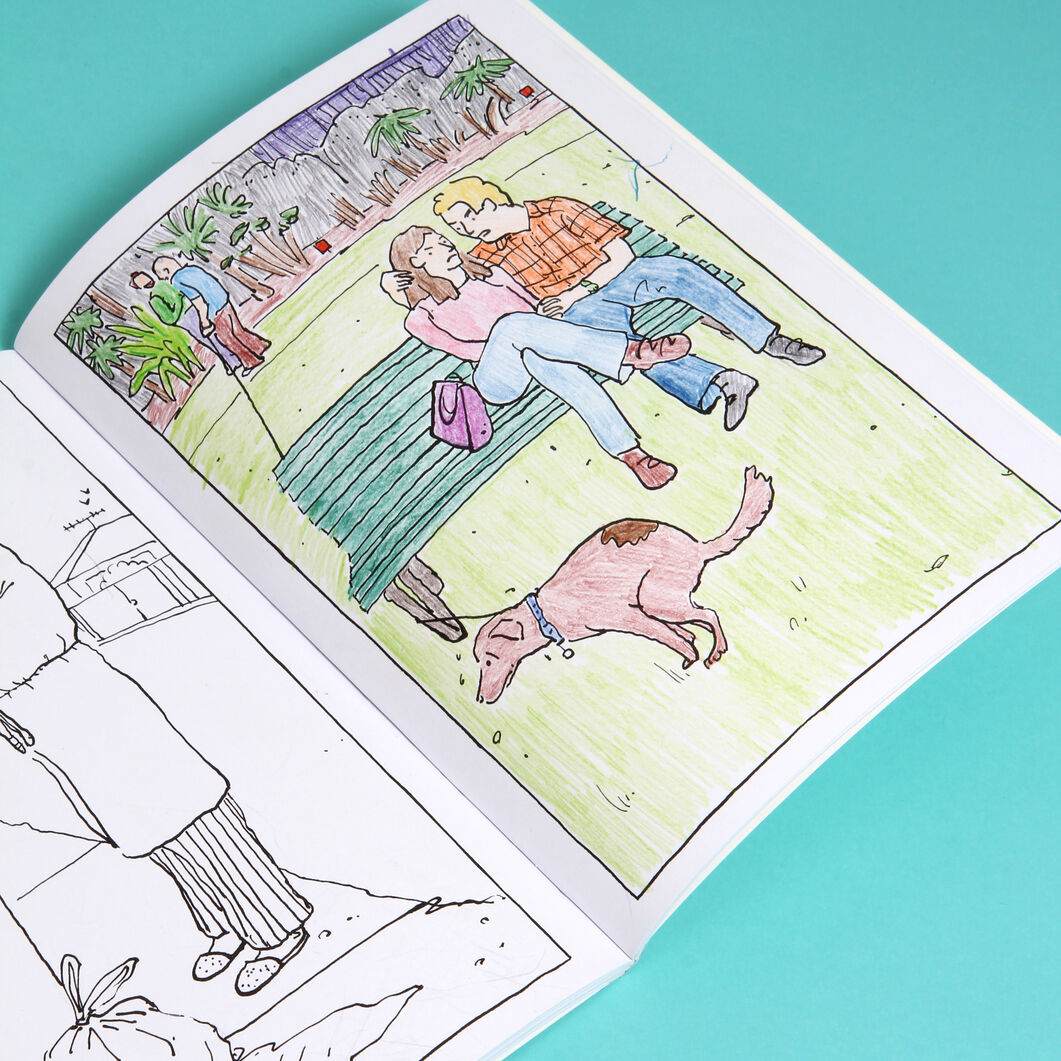 This Annoying Life: A Mindless Coloring Book for the Highly Stressed - Paperback in color