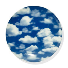 Sky Porcelain Dessert Plates - Set of 4 in color