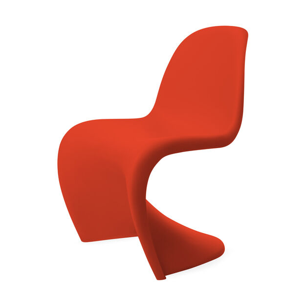 Panton Chair  Red in color