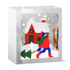 Festive Forest Holiday Cards (Box of 8) in color