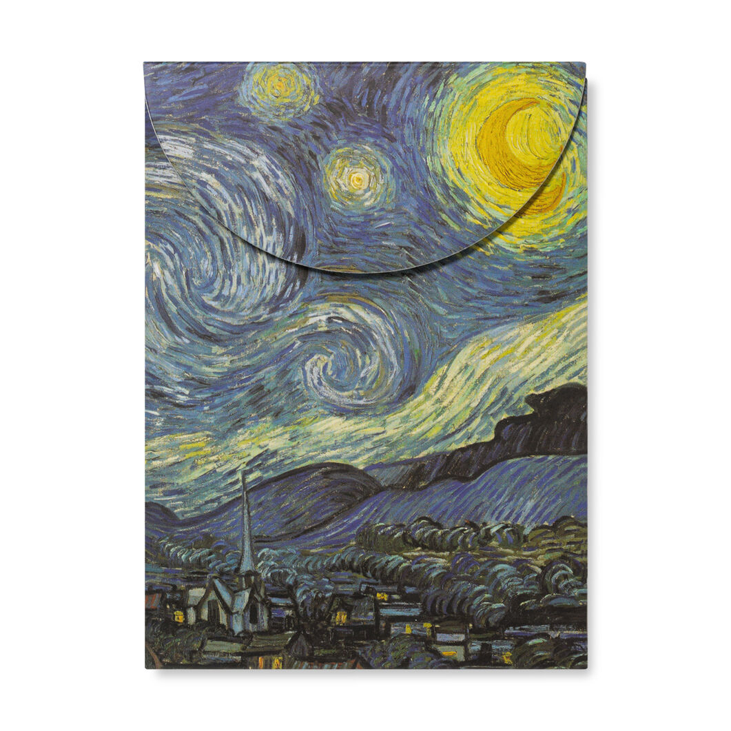 Magnetic Notebook: The Starry Night in color