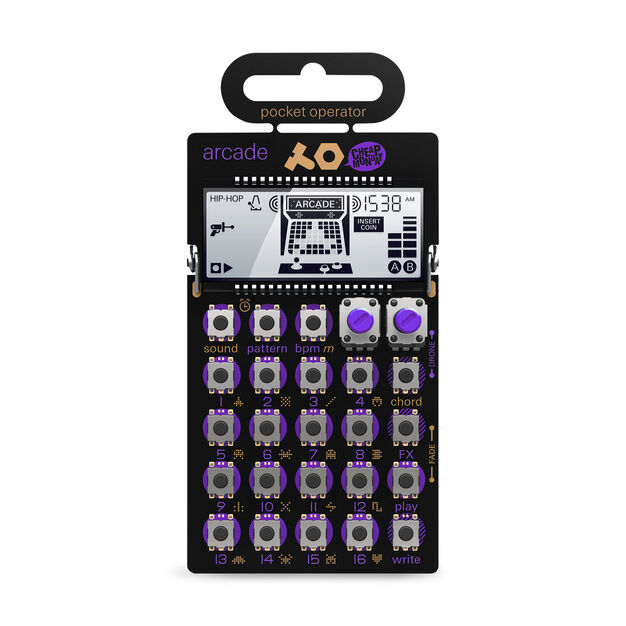 Pocket Operators in color