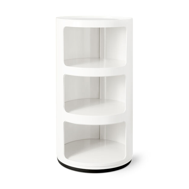 Kartell Componibili 3 Tier Storage in color White