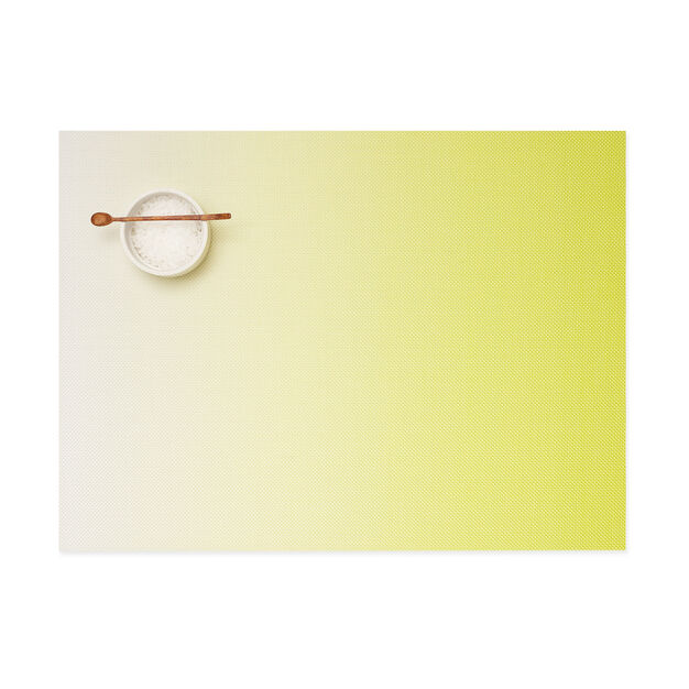 Chilewich Glow Placemat in color Yellow