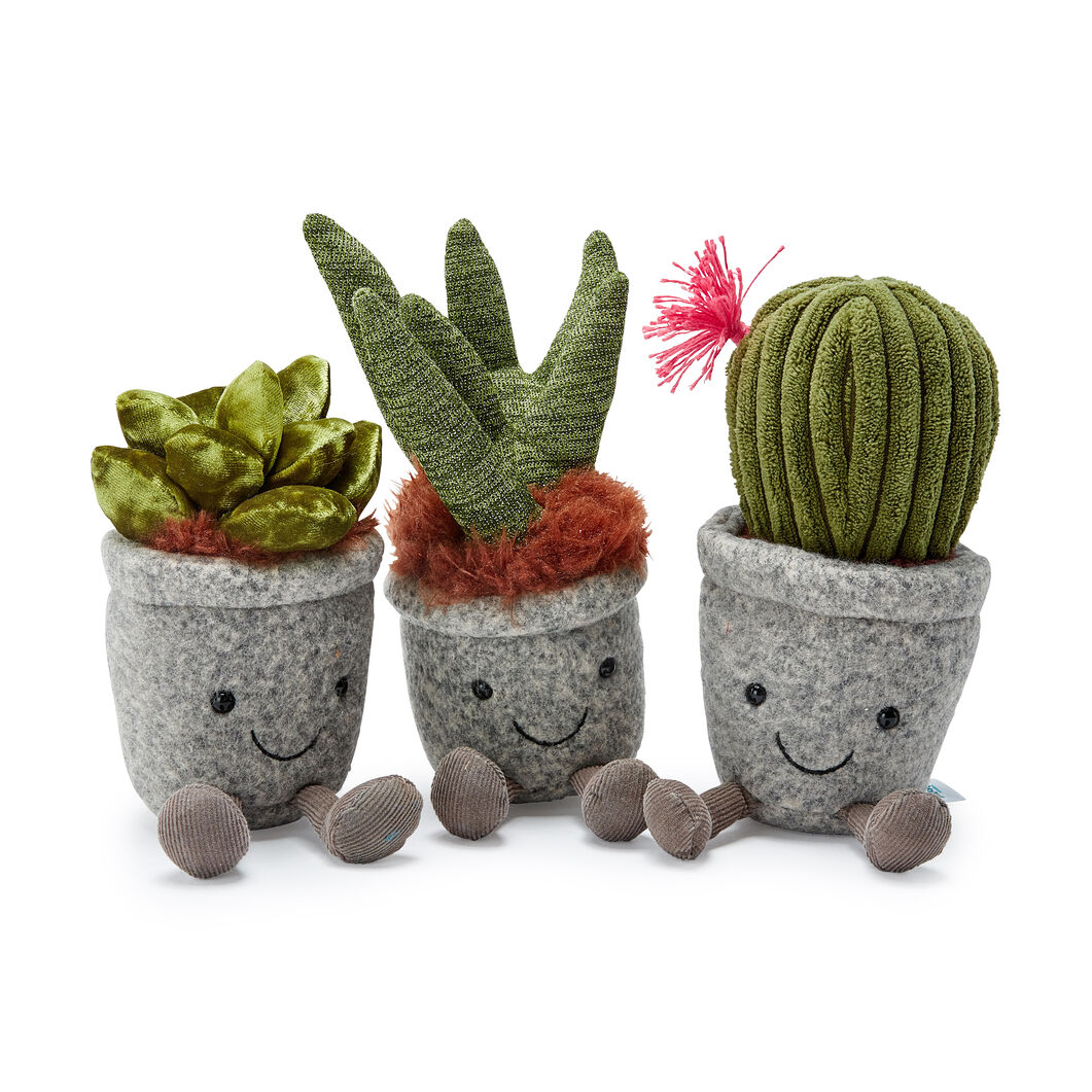 Silly Succulent Plushes in color Jade