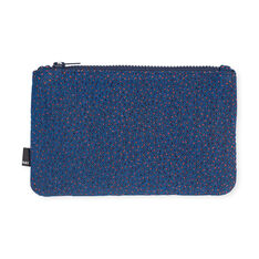 HAY Zip Purse Blue Sprinkles in color Blue Sprinkles