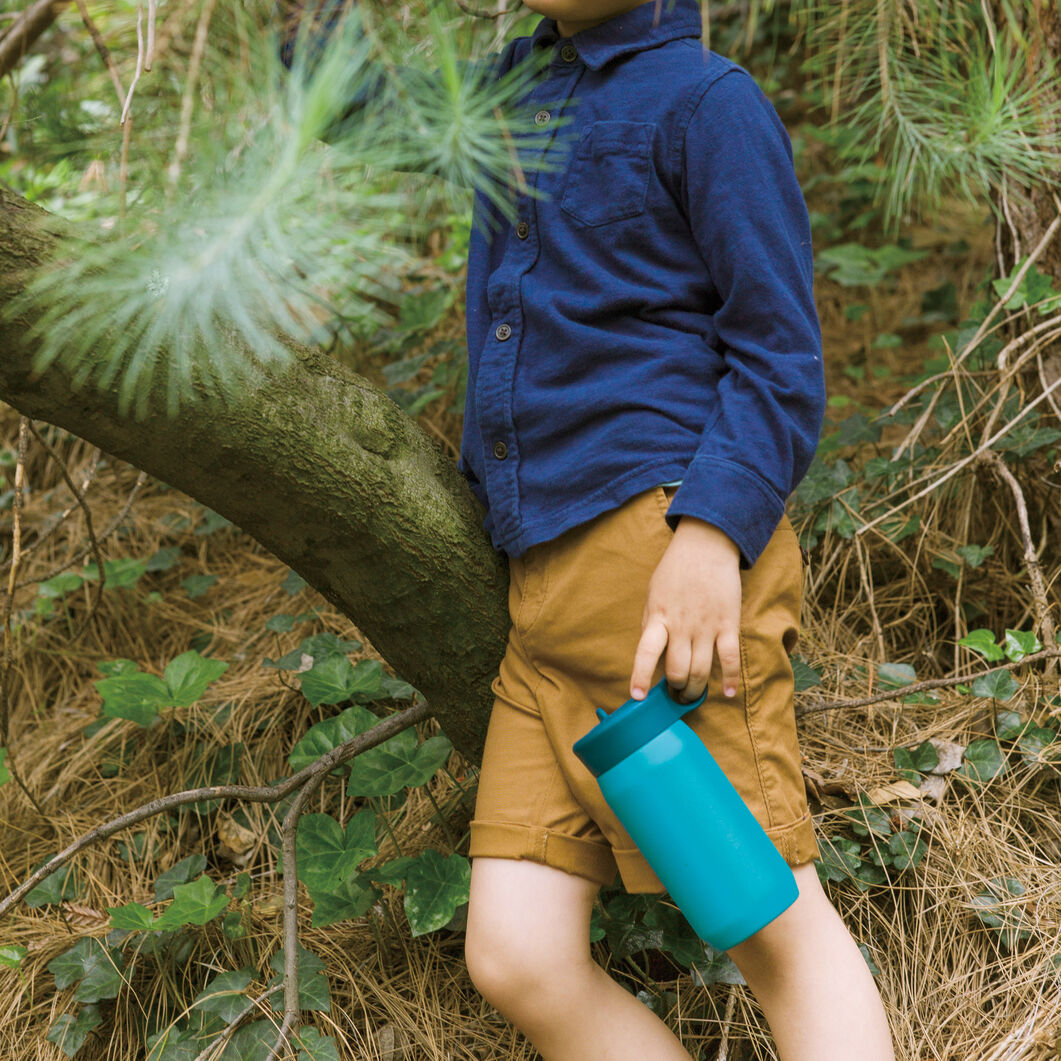Kinto Water Bottle for Kids in color Blue