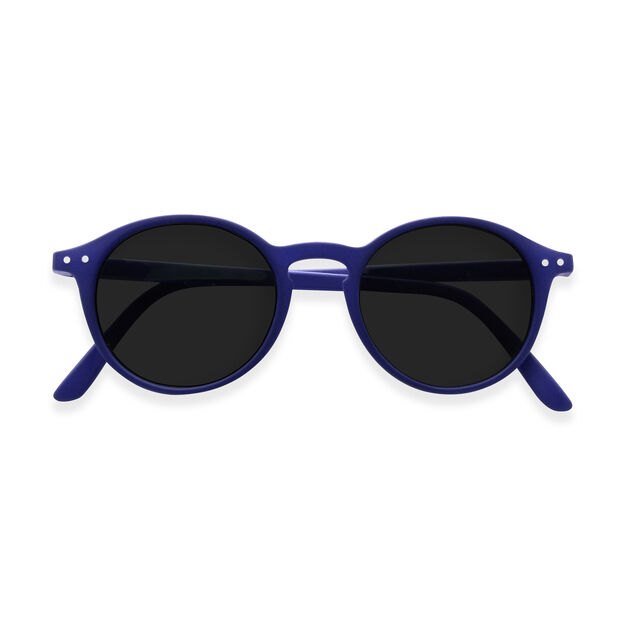IZIPIZI Round Sunglasses #D in color Navy