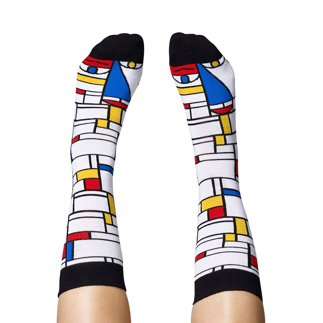 Chatty Feet Artist Socks Set 2 in color