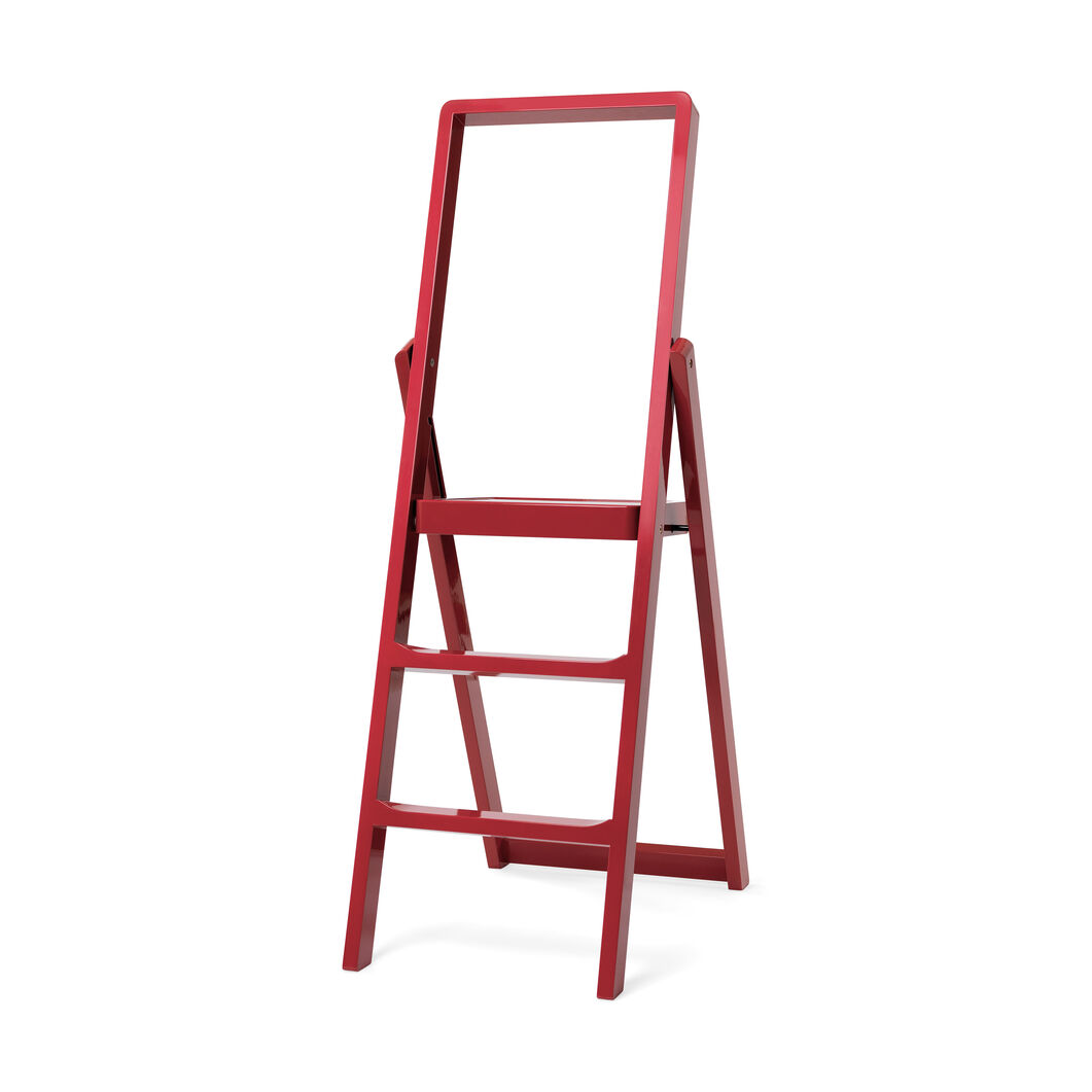 Step Ladder in color Red