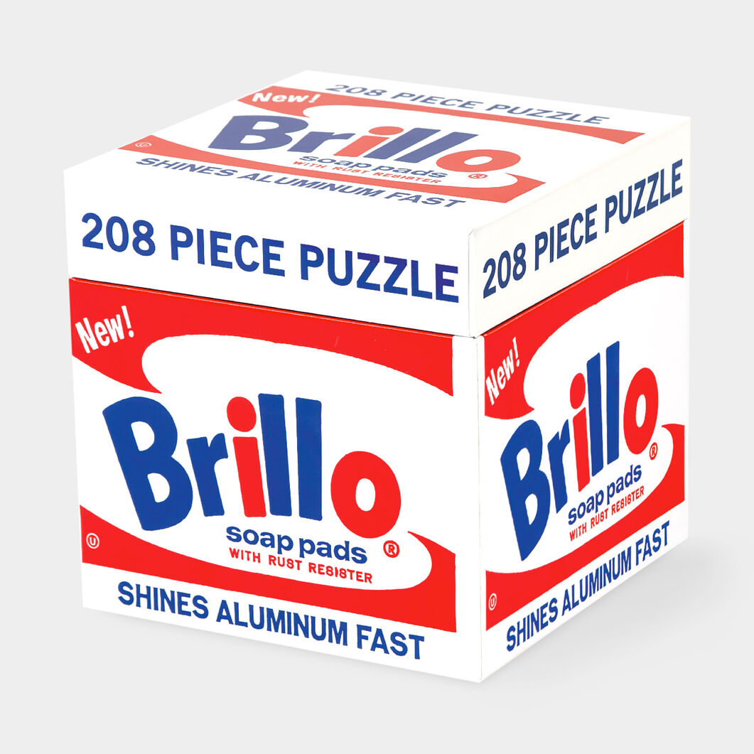 Andy Warhol Brillo Box Puzzle in color