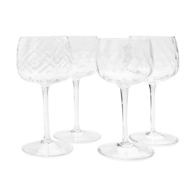 Distinct Patterned Wine Glasses in color