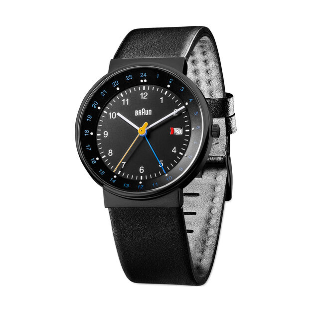 Braun GMT Analog Watch in color