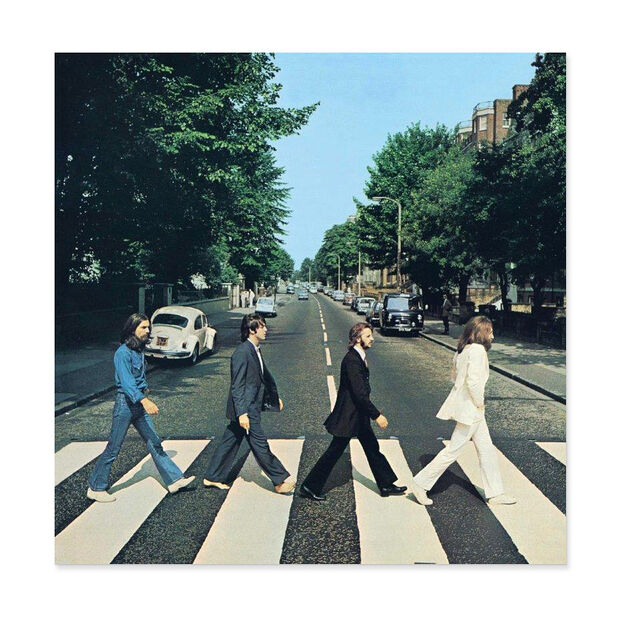 The Beatles: Abbey Road Vinyl Record in color