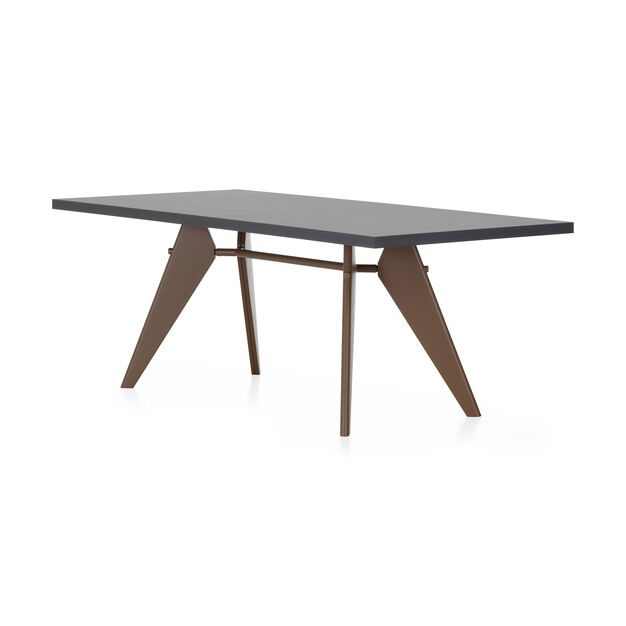 EM HPL-Top Table in color Burnt Orange