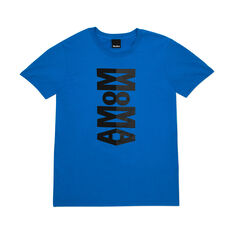 MoMA Reflective Logo T-Shirt in color Blue