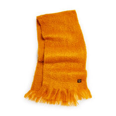 Mohair Scarf in Mustard in color