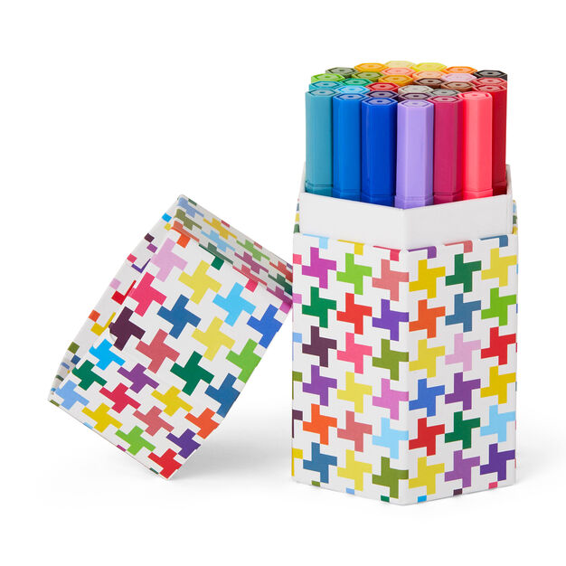 Kid Made Modern Washable Double Pointed Markers in color