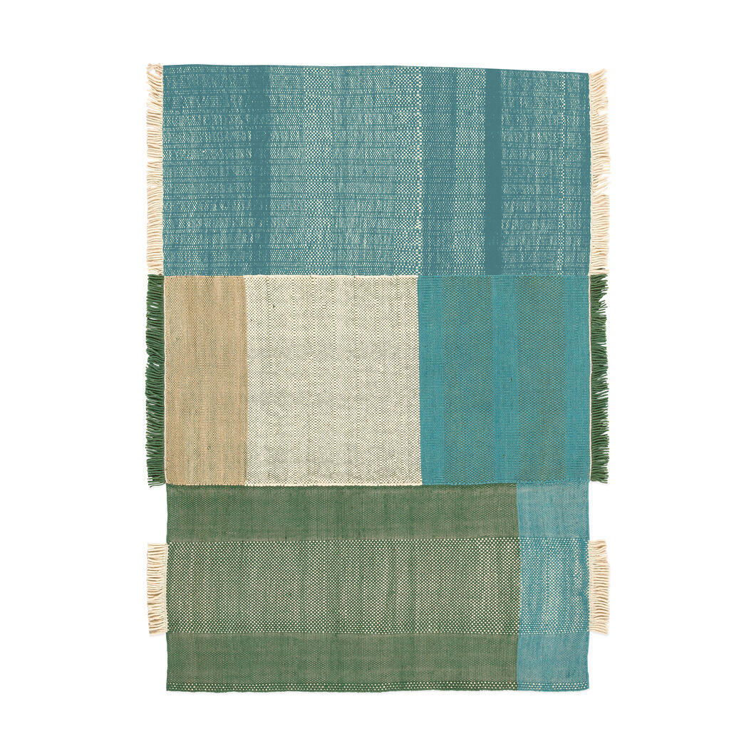 Nanimarquina Tres Rug in color Green