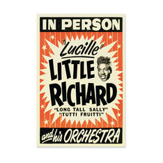 Little Richard: Lucille Poster in color